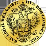 Goldmünze 1 Dukat Österreich 1827 Kaiser Franz I