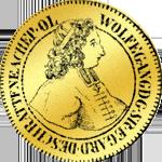 Salzburger Dukaten Goldmünze