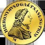 Salzburger Dukaten Gooldmünze