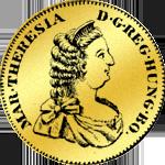 Siebenbürgen Dukat Goldmünze 1742