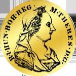 Goldmünze aus Siebenbürgen 1775