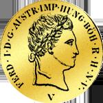 Kaiserlicher Doppeldukat von 1838