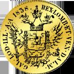 Kaiserlicher Doppel Dukat Goldmünze 1938