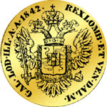 Österreichischer Dukat von 1842