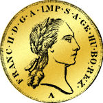 Doppeldukat Goldmünze 1799