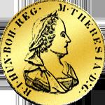 Doppeldukaten Goldmünze 1774