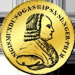 Salzburger Doppeldukat Goldmünze 1771