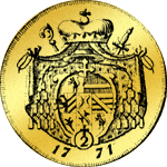 Salzburger Goldmünze Doppeldukaten