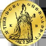 Kremmnitzer Dukat doppelt 1765