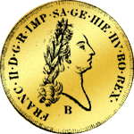 Goldmünze Brab. Souvereindor 1796