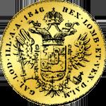 Goldmünze Souverain 1846