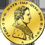 Kaiserlicher 4 facher Dukat Gold 1848