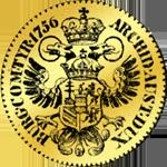 Goldmünzen Dukaten von 1756