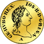 Dukaten Goldmünze von 1787 Joseph II