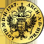 Gold Dukat von 1787