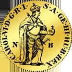 Kremmnitzer Dukat in Gold 1735