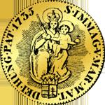 Goldmünze Ungarisch. Kremmnitzer Dukat von 1735