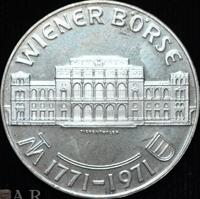 25 Schilling Silbermünze Wiener Börse