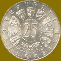 Wiedereröffnung der Bundestheater 1955 Silbermünze Österreich