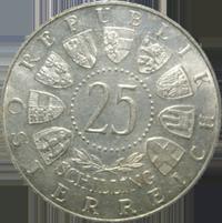 40 Jahre Burgenland Silbermünze Österreich