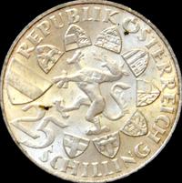 Silbermünze Erzherzog Johann, Österreich