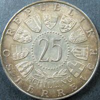 25 Schilling Münze Mozart Österreich
