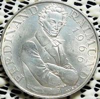 25 Schilling Silbermünze Ferdinand Raimund