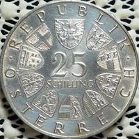 25 Schilling Münze Ferdinand Raimund Österreich