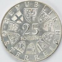 Peter Rosegger Silbermünze Österreich