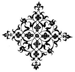 Ornamentstich Niello von Peter Flötner
