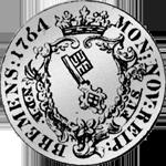 sehr alte Silbermünze aus Bremen