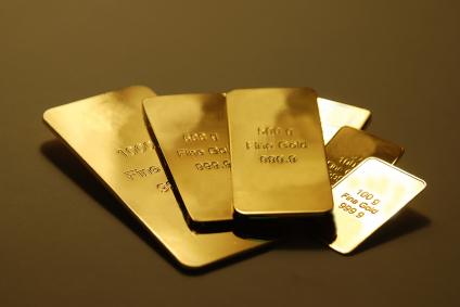 Goldbarren beim Ankauf abgeben