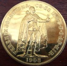 100 Kronen Goldmünze Österreich Ungarn