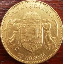 10 Kronen Goldmünze Österreich-Ungarn