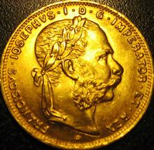 8 Florin Münze aus Österreich