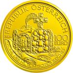100 Euro Goldmünze Österreich, Krone des heiligen römischen Reiches