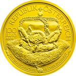 100 Euro Goldmünze Erzherzoghut Österreich