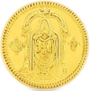 Lord Balaji Goldmünze aus Indien