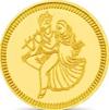 Radhe Krishna Goldmünze aus Indien