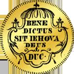 1741 Dukaten Gold Bildseite Münze