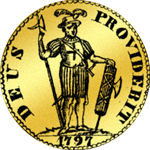 Louisdor Dupplone 1797 Gold Münze
