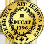 1796 Gold Münze Doppel dukaten