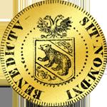 1600 Gold Münze Dukaten Doppel