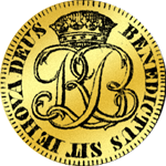 1780 Stück Franken Gold Rückseite Münze 10
