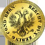 1659 Gold Münze Dreifacher Dukaten
