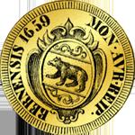 1659 Dukaten Dreifacher Münze Gold
