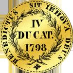 1798 Gold Dukaten vierfach Münze