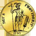 Vierfacher Dukaten Gold Münze Doppel Dupplone 1797