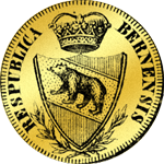 1797 Doppel Dupplone Dukaten Gold Münze Vierfacher