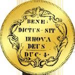 1795 Gold Münze Vierfacher Dukaten